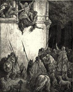 Death of Jezebel, Gustave Dore