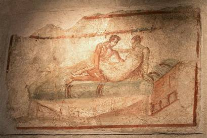 Image result for women and men in pompeii