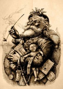 Merry Old Santa