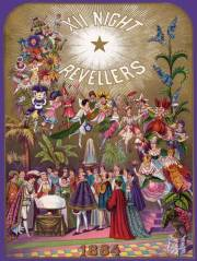 12th Night Revellers invitation 1884