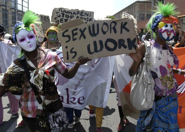 south africa sex worker protest Insatiable chick having frenzied anal sex without putting off her pantyhose.