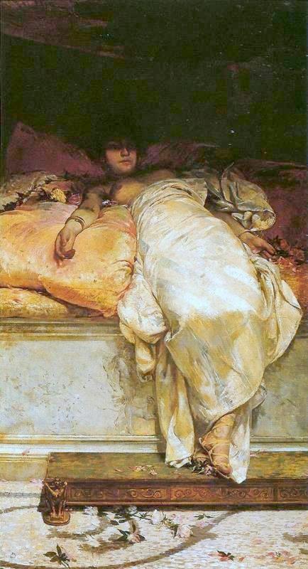 Pintura de Mesalina.