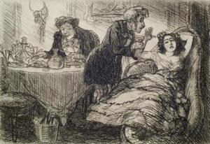 Victorian faint