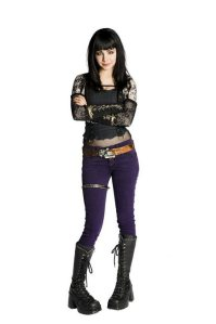 Ksenia Solo as Kenzi. Don't let her size fool you.