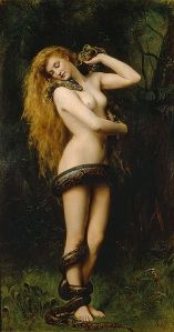 Lilith by John Collier (c 1892)