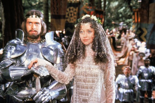 Excalibur wedding