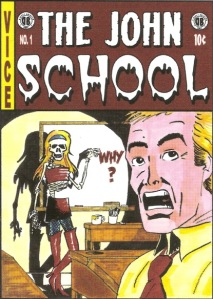 john school horror comic