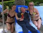 Hawking with chicks