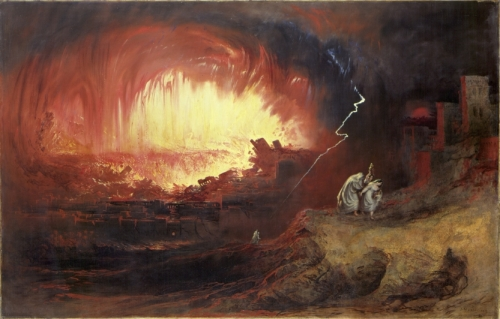 The Destruction of Sodom and Gomorrah by John Martin (1852)