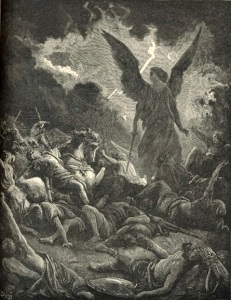 The Destruction of the Army of Sennacherib by Gustave Dore