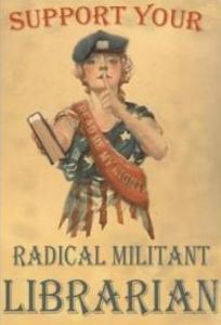 radical militant librarian
