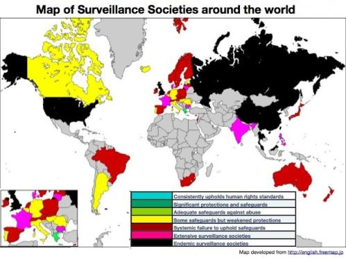 map of surveillance states