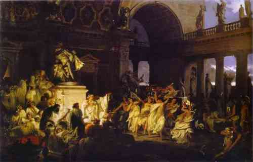 An Orgy in Imperial Rome by Henryk Siemiradzki (1872)
