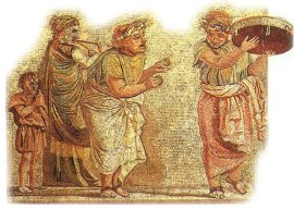 Roman mime