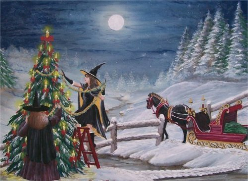 Witchy Christmas