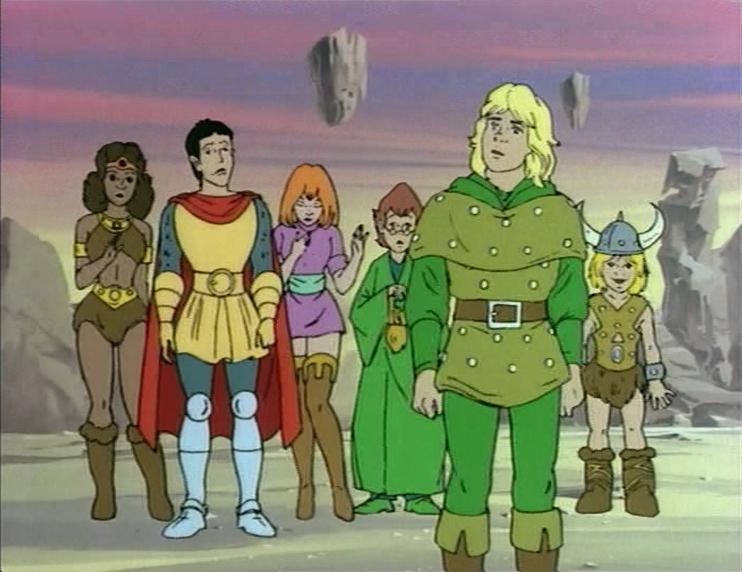dragon 80s kids cartoons