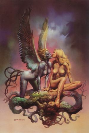 Siren Song by Boris Vallejo (1979)