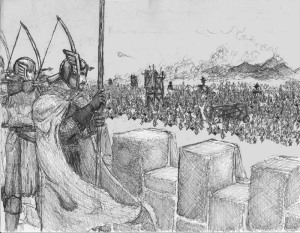 The Siege of Gondor by Nathanael L. Wetjen