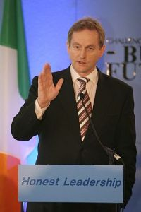 Honest Enda Kenny