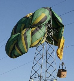 balloon crash