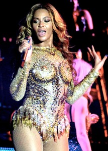 Beyonce Mrs Carter Show costume