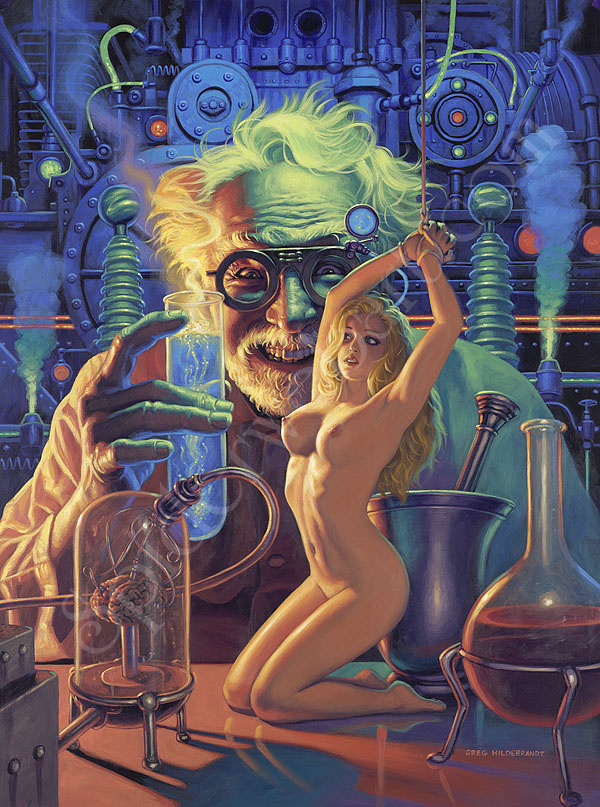 Can Mad scientist science fiction women naked opinion you