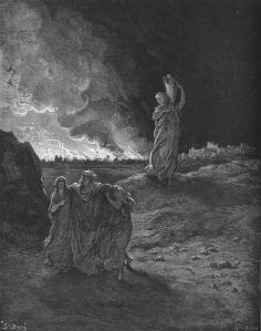 The Destruction of Sodom by Gustave Dore (1866)