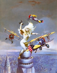 Queen Kong by Frank Frazetta (1977)