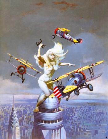 Queen Kong by Frank Frazetta (1977)