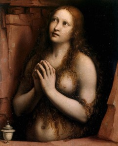 Repentant Mary Magdalene by Giampietrino (c 1525)