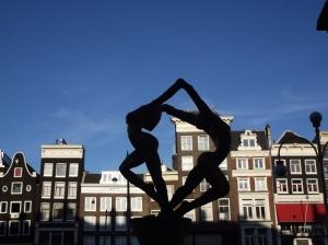 Amsterdam statue