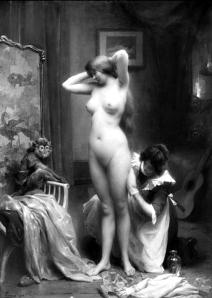 Après le Bain by Henri Tanoux (1912)