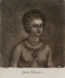 Jane Shore (18th century engraving)