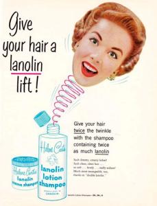 shampoo ad