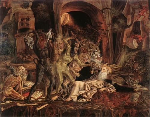Temptations of St. Anthony by Bernardo Parentino (c. 1494)