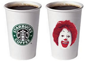 Starbucks vs McDonald's