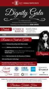 Dignity Gala Invitation