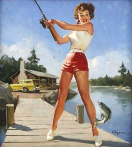 Gil Elvgren advertisement for NAPA (1980)