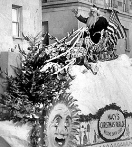 Macy's parade Santa Claus