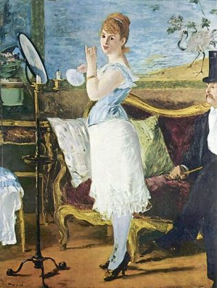 Nana by Edouard Manet (1877)
