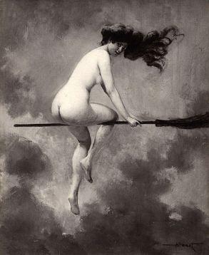 Départ pour le Sabbat by Albert Joseph Pénot (1910)