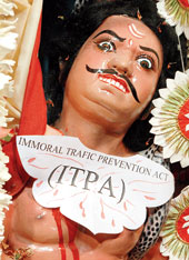 ITPA as Mahishasur