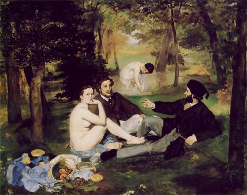 The Luncheon on the Grass by Edouard Manet (1863)