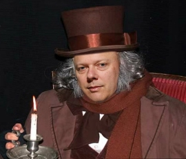 Chris Grayling as Scrooge