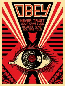 OBEY eye poster