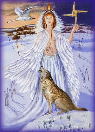 Imbolc by Wendy Andrew