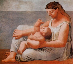 Mother and Child by Pablo Picasso (1921)
