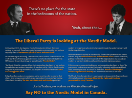 Say NO to the Nordic Model in Canada