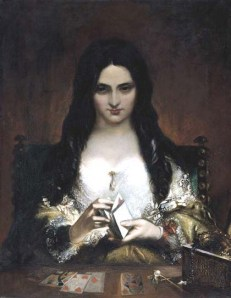 The Wish by Theodor von Holst (1841)