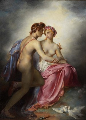 Venus and Adonis by Pierre-Narcisse Guérin (after 1800)